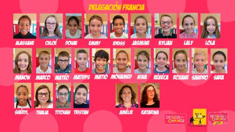 Les élèves Bâtisseurs de possibles participent à la rencontre des enfants qui changent le monde à Madrid !!!