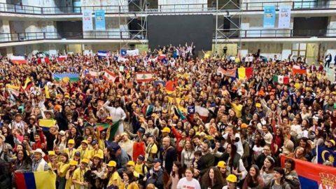 """Les enfants de Castries représentent la France à la rencontre mondiale """"I can children's global summit"""" à Rome"""